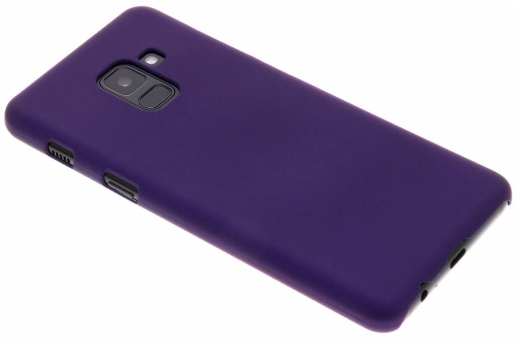 Paars effen hardcase hoesje voor de Samsung Galaxy A8 (2018)