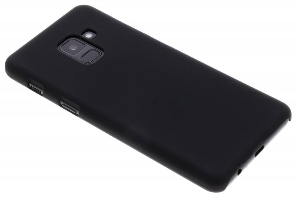 Zwart effen hardcase hoesje voor de Samsung Galaxy A8 (2018)