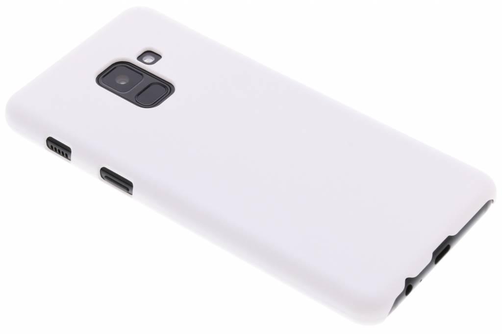 Wit effen hardcase hoesje voor de Samsung Galaxy A8 (2018)