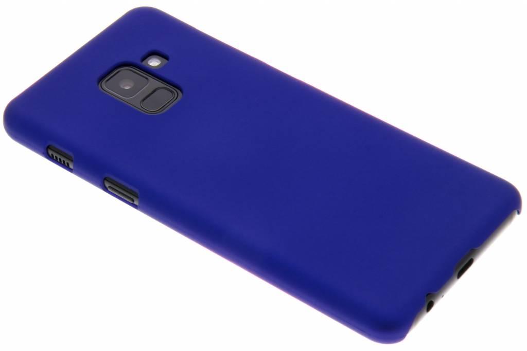 Blauw effen hardcase hoesje voor de Samsung Galaxy A8 (2018)