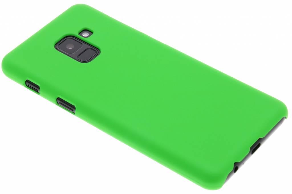 Groen effen hardcase hoesje voor de Samsung Galaxy A8 (2018)