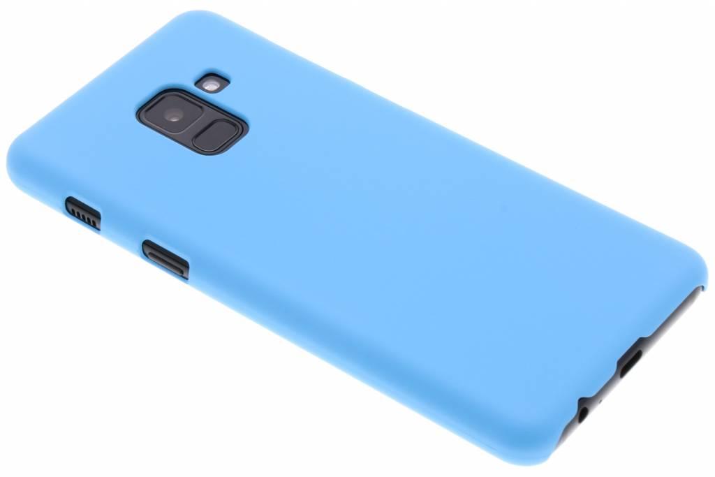 Turquoise effen hardcase hoesje voor de Samsung Galaxy A8 (2018)