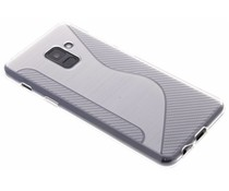 Transparant S-line TPU hoesje Samsung Galaxy A8 (2018)