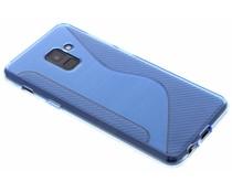 Blauw S-line TPU hoesje Samsung Galaxy A8 (2018)