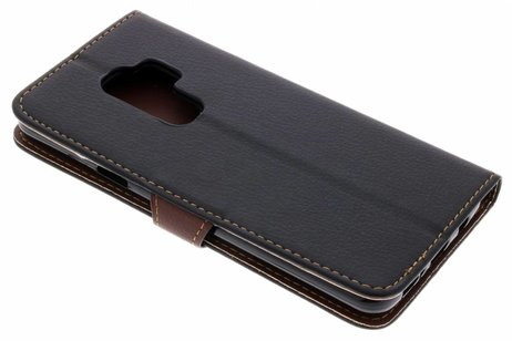 Noir Business Case Booktype Tpu Pour Samsung Galaxy A3 (2017) 6HSTdc