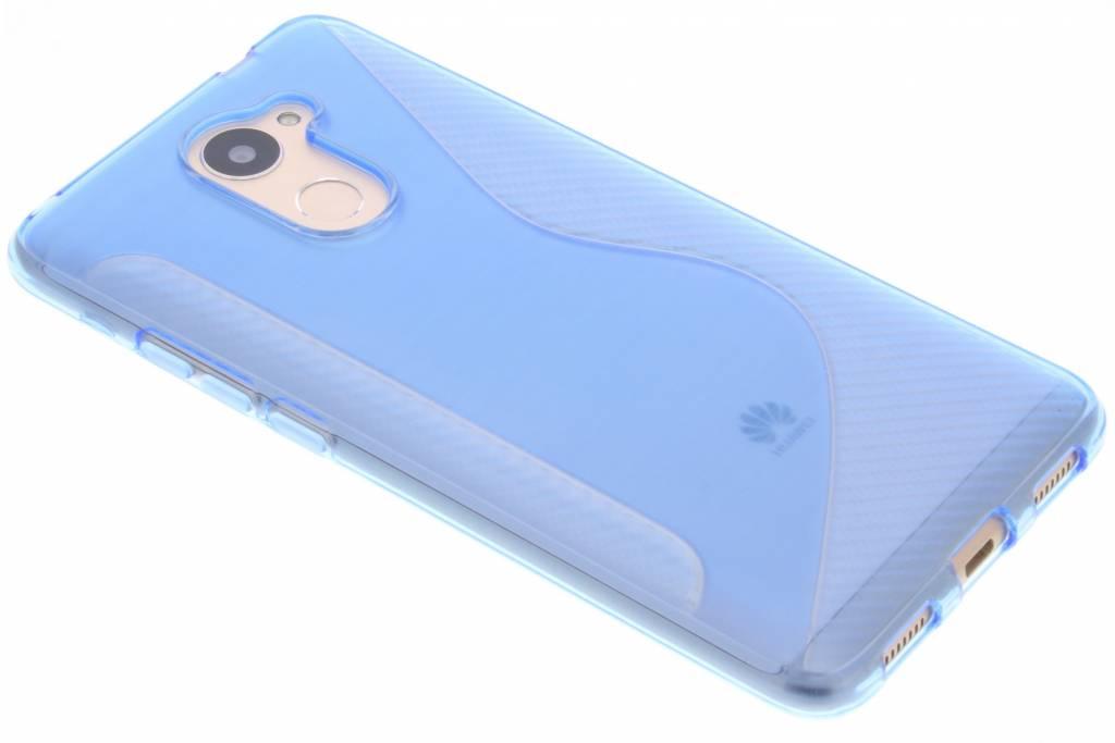 Blauw S-line TPU hoesje voor de Huawei Y7 Prime