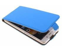 Selencia Blauw Luxe TPU Flipcase Huawei Y7 (2017)