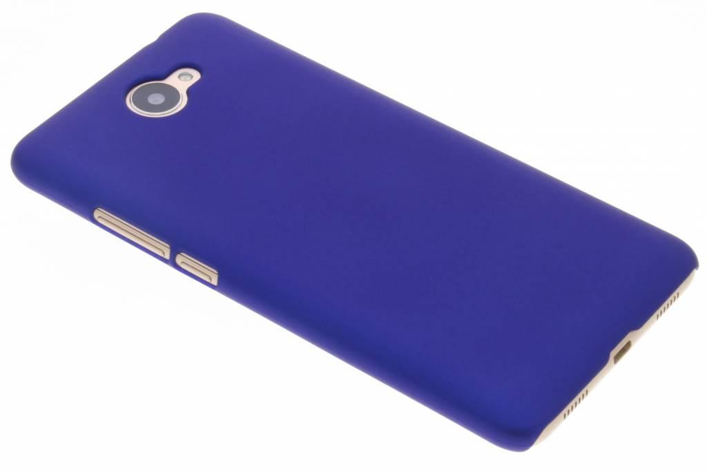 Blauw effen hardcase hoesje voor de Huawei Y7 (2017)