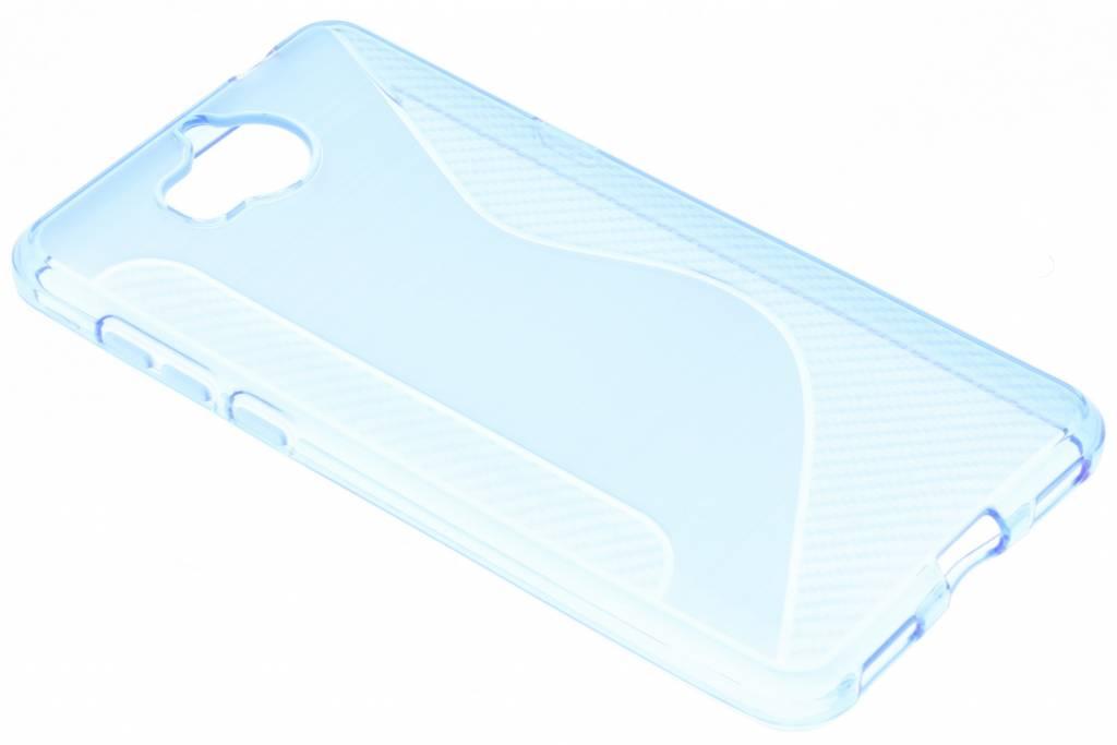 Blauw S-line TPU hoesje voor de Huawei Y6 (2017)