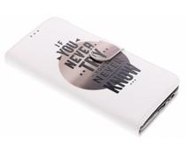 Design TPU booktype hoes Samsung Galaxy A8 (2018)