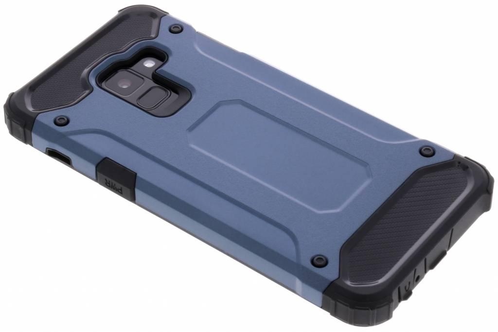 Donkerblauwe Rugged Xtreme Case voor de Samsung Galaxy A8 (2018)