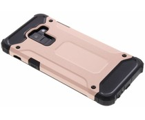 Rosé Goud Rugged Xtreme Case Samsung Galaxy A8 (2018)