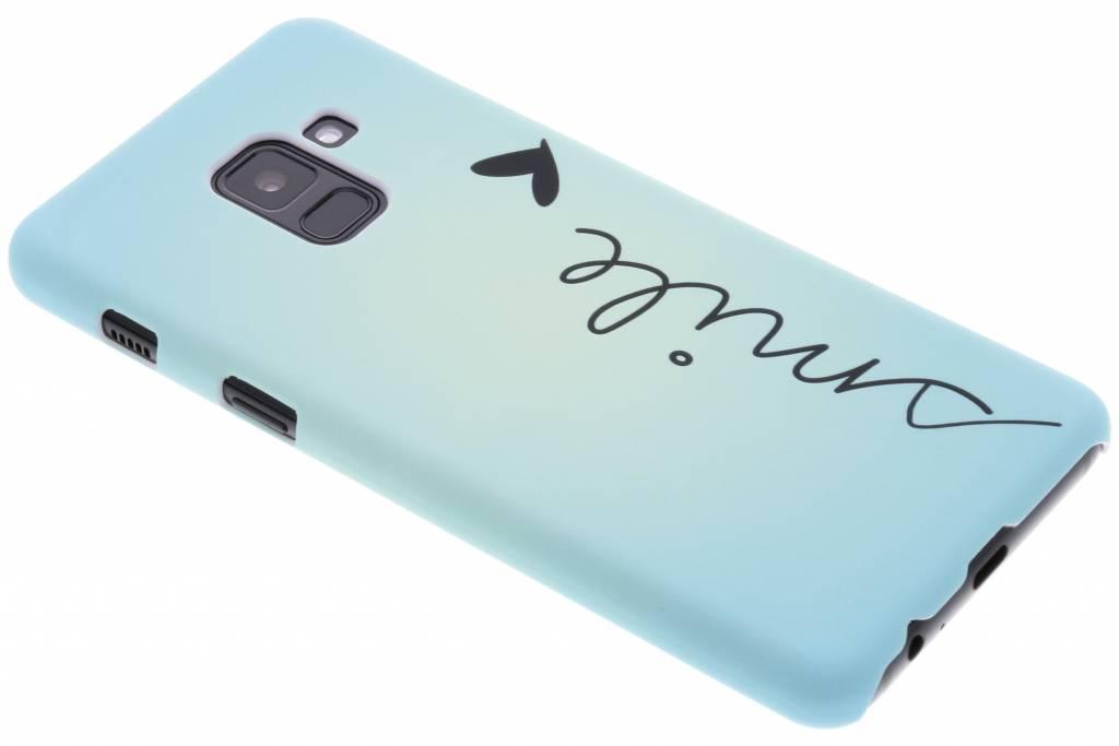 Smile design hardcase hoesje voor de Samsung Galaxy A8 (2018)