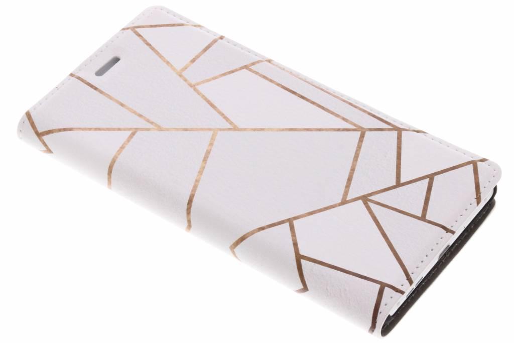 Wit Grafisch Design Booklet voor de Nokia 3
