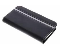 Valenta Zwart Booklet Stripe Samsung Galaxy S4