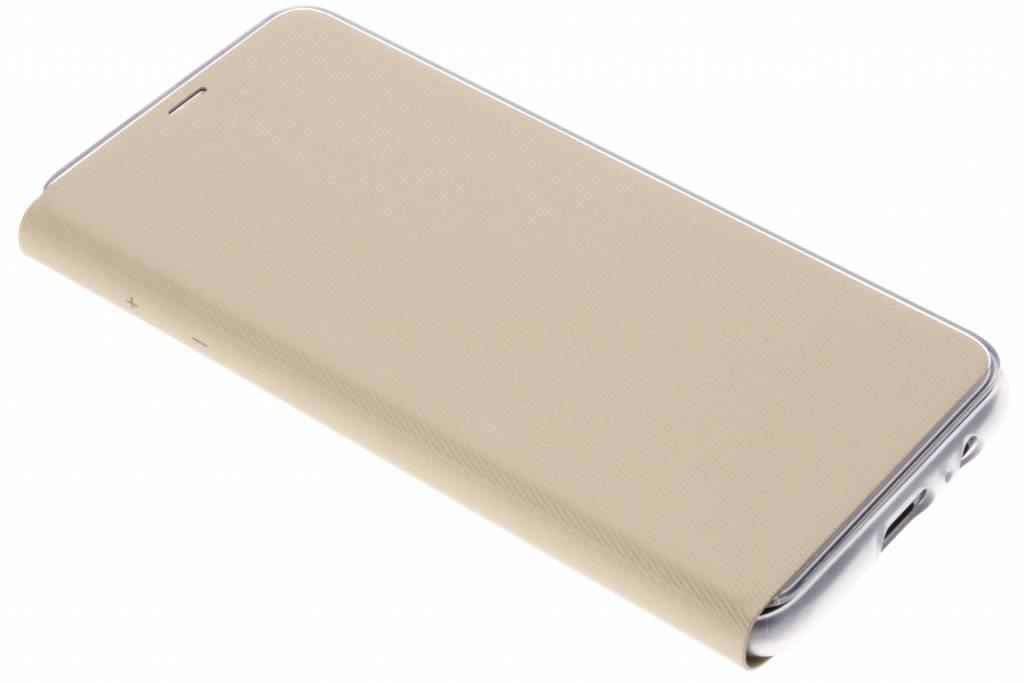 Gouden Originele Neon Flip Cover voor de Galaxy A8 (2018)