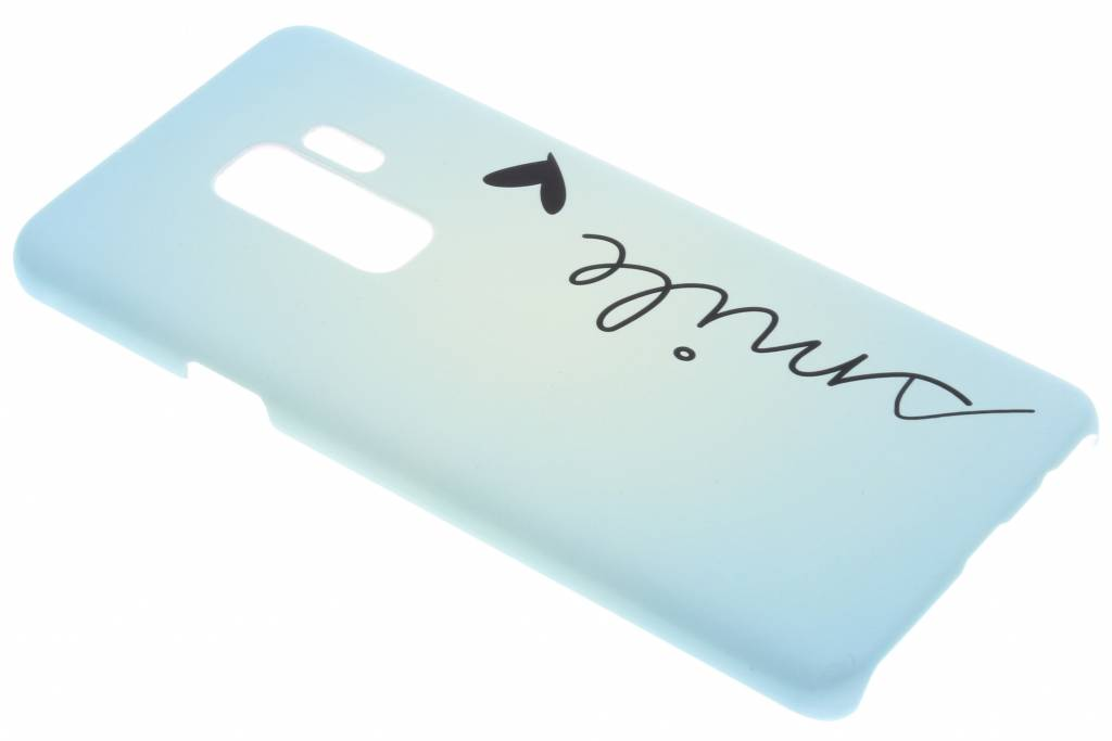 Smile design hardcase hoesje voor de Samsung Galaxy S9 Plus