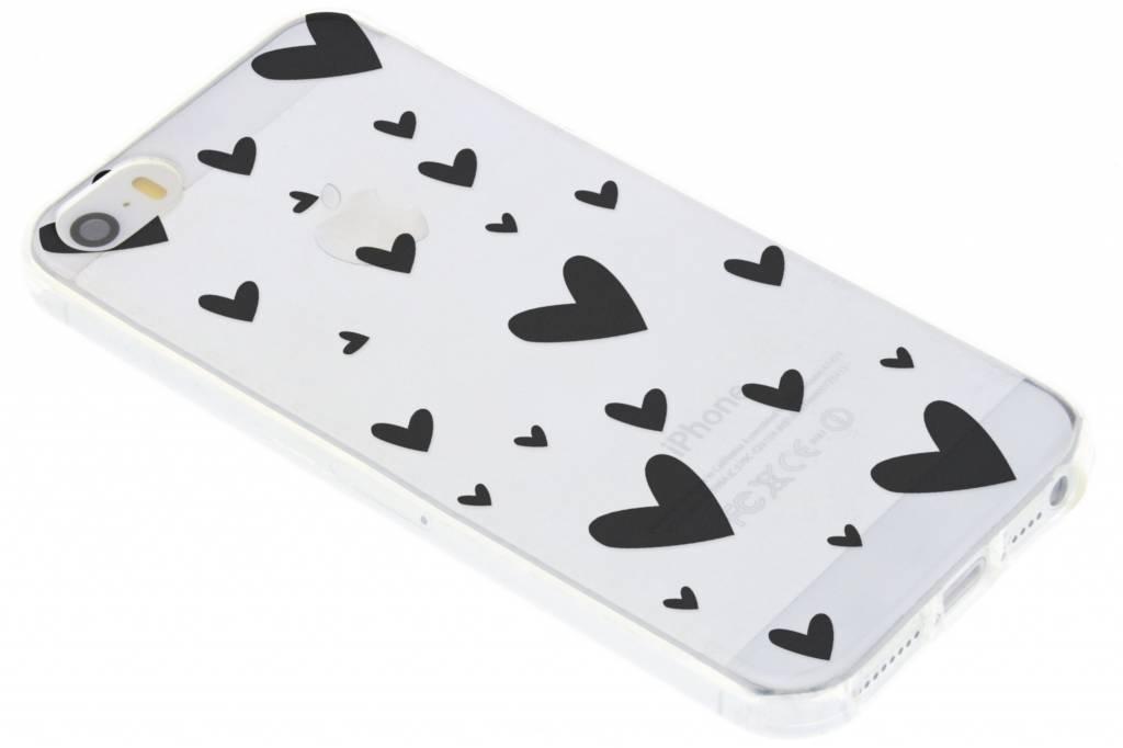 Hearts design siliconen hoesje voor de iPhone 5 / 5s / SE