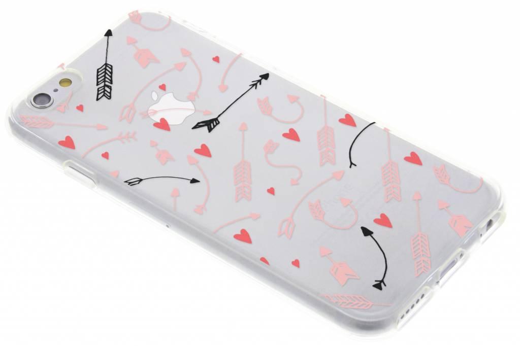 Love Arrow design siliconen hoesje voor de iPhone 6 / 6s