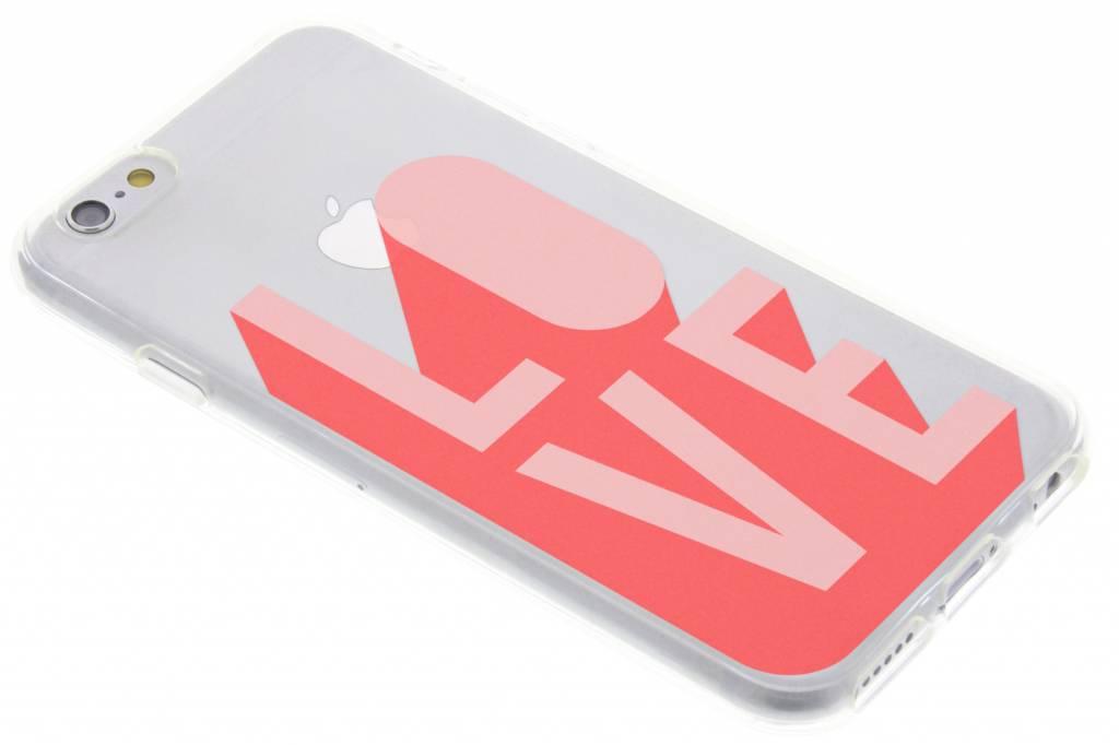 Love design siliconen hoesje voor de iPhone 6 / 6s