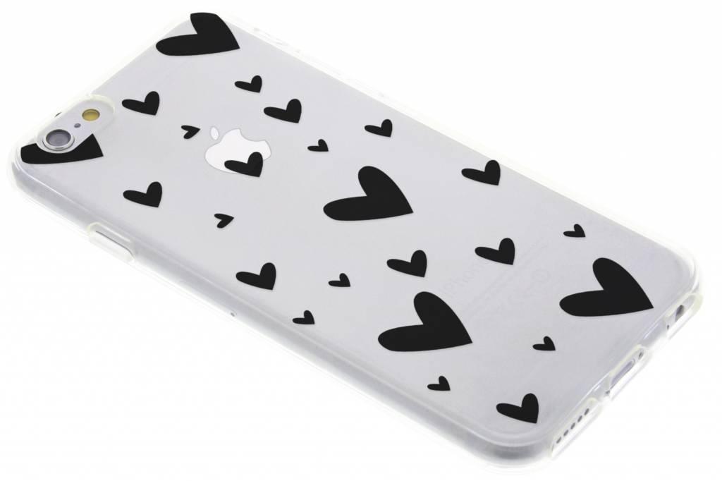 Hearts design siliconen hoesje voor de iPhone 6 / 6s