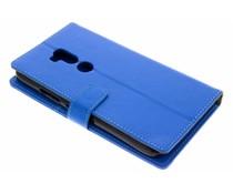 Blauw TPU Bookcase Alcatel A7 XL