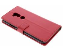 Rood TPU Bookcase Alcatel A7 XL
