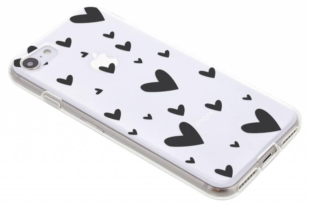 Hearts design siliconen hoesje voor de iPhone 8 / 7