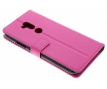 Roze TPU Bookcase Alcatel A7 XL