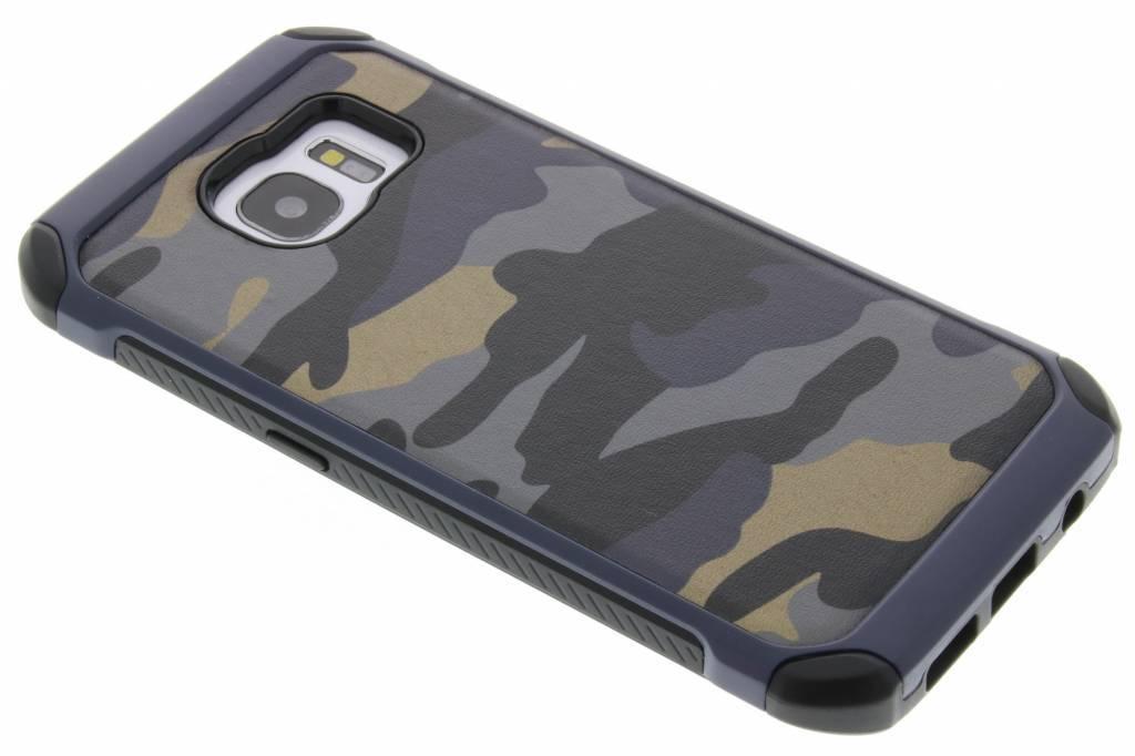 Blauw army defender hardcase hoesje voor de Samsung Galaxy S7 Edge