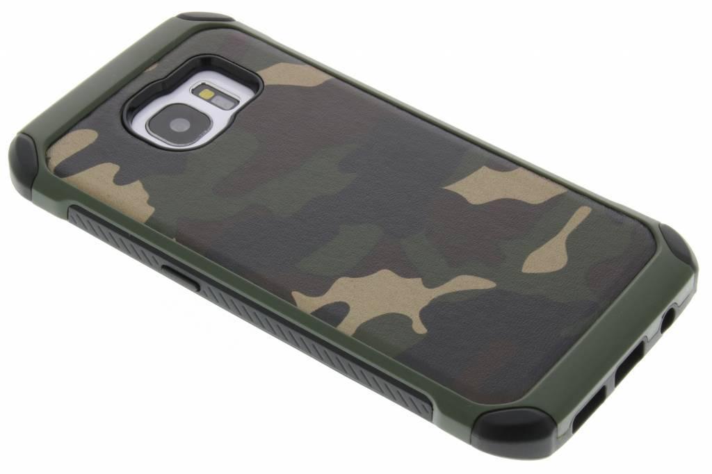 Groen army defender hardcase hoesje voor de Samsung Galaxy S7 Edge
