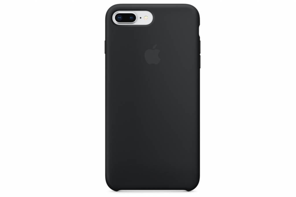 Apple Zwarte Silicone Case voor de iPhone 8 Plus / 7 Plus