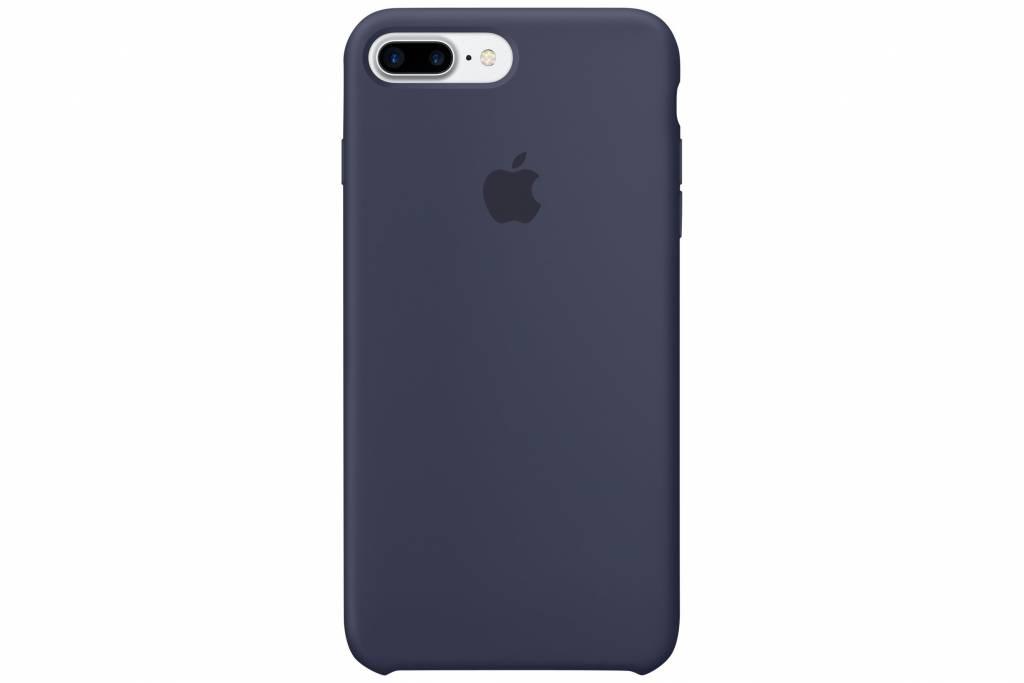 Apple Donkerblauwe Silicone Case voor de iPhone 8 Plus / 7 Plus