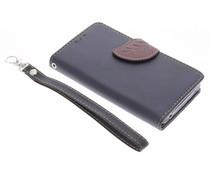 Zwart blad design TPU booktype hoes Acer Liquid Z520