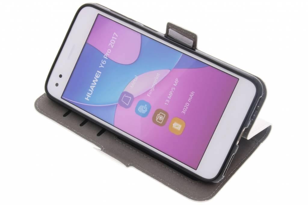 Livret Tpu Solide Blanc Pour Pro Huawei Y6 (2017) / P9 Mini-lite Bpb1WhY4