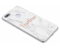 Quote design TPU hoesje Huawei Y6 Pro (2017) / P9 Lite Mini