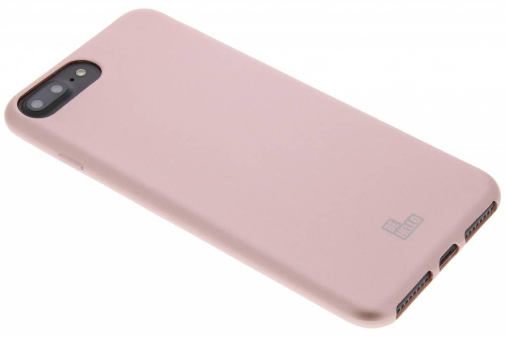Rosé Gouden Soft Touch Gel Case voor de iPhone 8 Plus / 7 Plus / 6(s) Plus