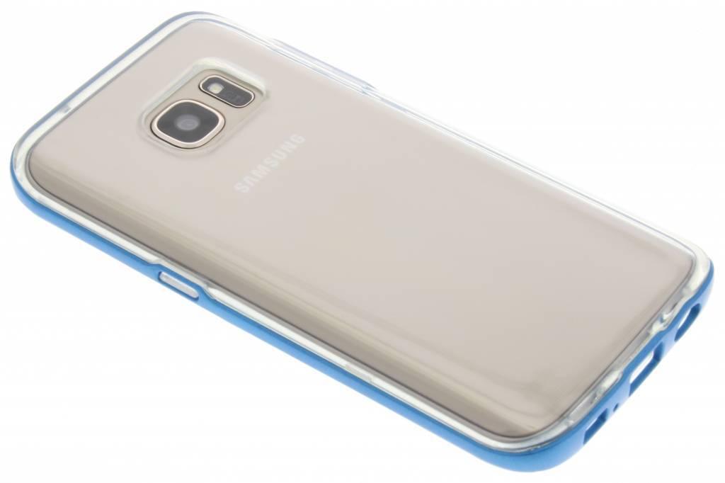 Blauwe bumper TPU case voor de Samsung Galaxy S7