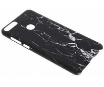 Zwart marmer look hardcase hoesje Huawei P Smart