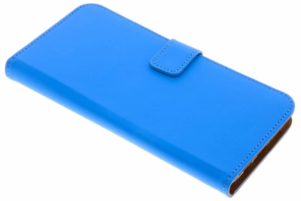 Blauwe Luxe TPU Book Case voor de Samsung Galaxy S9 Plus