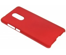 Rood effen hardcase hoesje Xiaomi Redmi 5