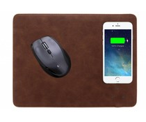 Donkerbruin QI Wireless Charging Mouse Pad