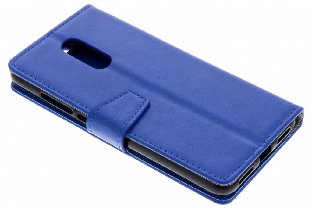 Blauwe Zakelijke Booklet voor de Xiaomi Redmi 5