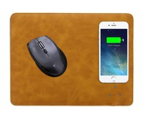 Lichtbruin QI Wireless Charging Mouse Pad