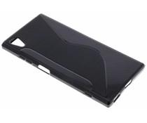 Zwart S-line TPU hoesje Sony Xperia XA1 Plus