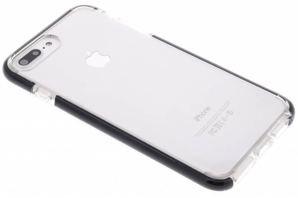 Zwarte Bumper siliconen case voor de iPhone 8 Plus / 7 Plus / 6(s) Plus