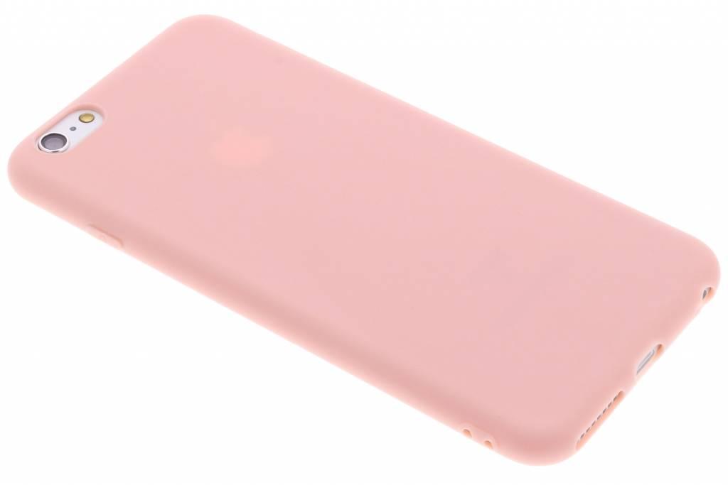 Roze Color TPU hoesje voor de iPhone 6(s) Plus