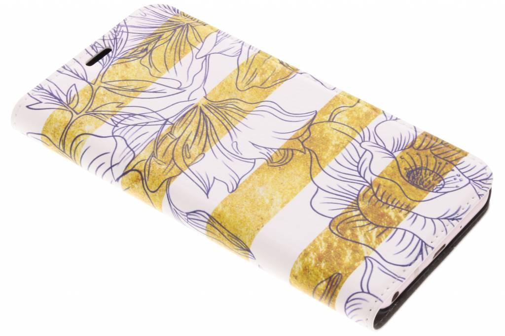 Bloemen Design Booklet voor de LG Q6