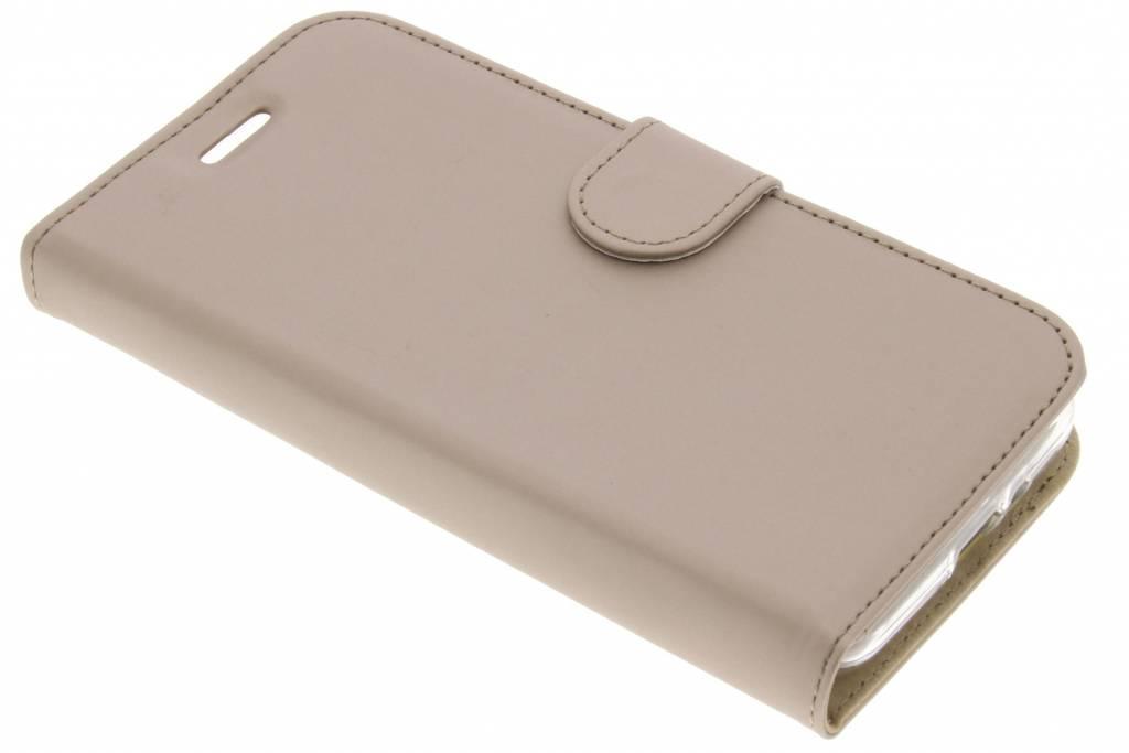 Accezz Gouden Wallet TPU Booklet voor de Samsung Galaxy Xcover 4