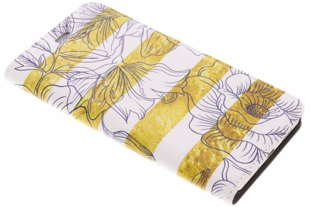 Bloemen Design Booklet voor de Huawei P10 Lite